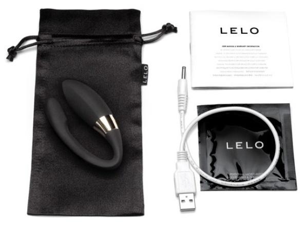 Вибромассажер Noa черного цвета (LELO)
