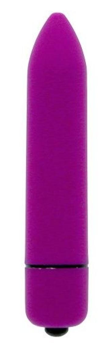 Фиолетовая вибропуля CLIMAX BULLET - 8,5 см.