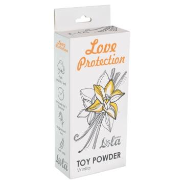 Пудра для игрушек Love Protection с ароматом ванили - 30 гр.