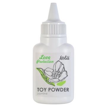 Пудра для игрушек Love Protection с ароматом жасмина - 15 гр.