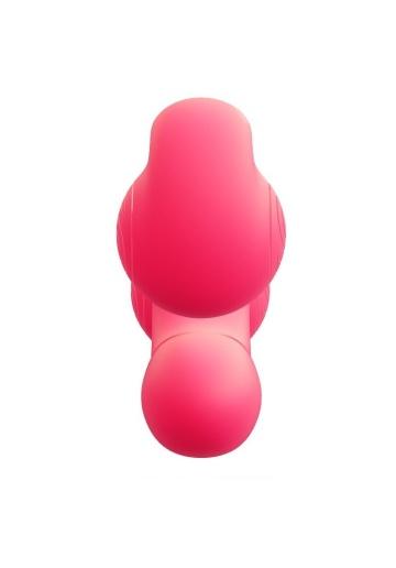 Уникальный розовый вибромассажер-улитка для двойной стимуляции Snail Vibe