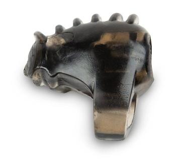 Черное кольцо на член с вибрацией