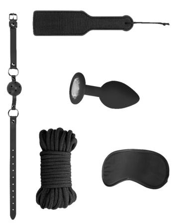 Черный игровой набор Introductory Bondage Kit №5