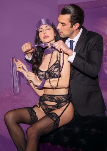 Фиолетовый игровой набор Introductory Bondage Kit №6