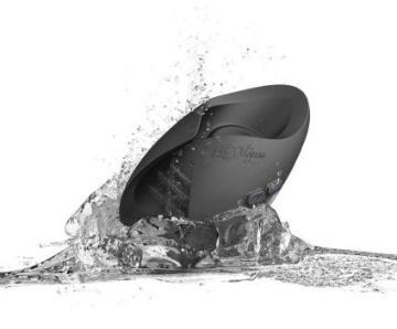 Темно-серый инновационный мужской осциллятор PULSE SOLO LUX с пультом ДУ