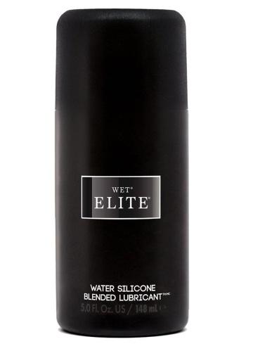 Водно-силиконовый интимный лубрикант Wet Elite - 148 мл.