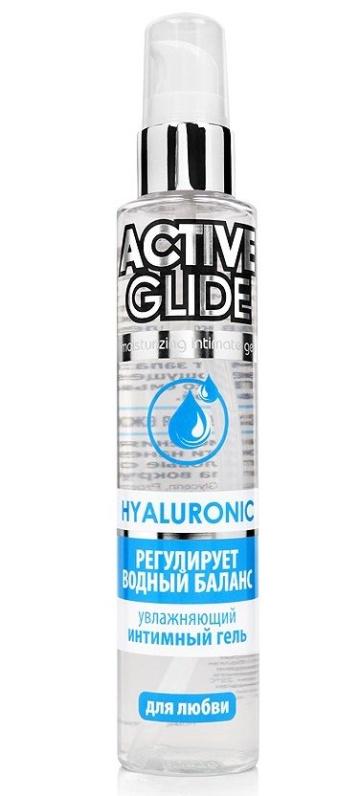 Увлажняющий интимный гель Active Glide Hyaluronic - 100 гр.