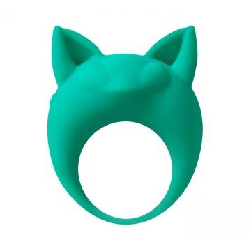 Зеленое эрекционное кольцо Lemur Remi