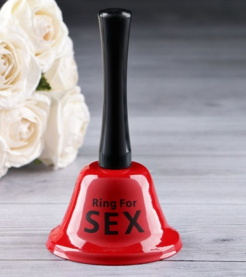 Настольный колокольчик RING FOR SEX