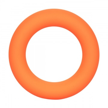Оранжевое эрекционное кольцо Link Up Ultra-Soft Verge.