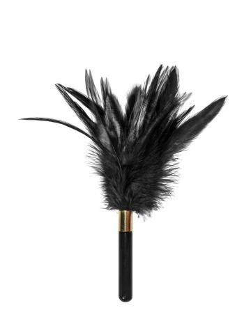 Черный перьевой тиклер Plume - 23 см.