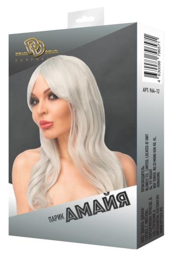"Светло-серый парик ""Амайя"""