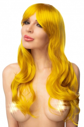 """Золотистый парик """"Кохэку"""""""