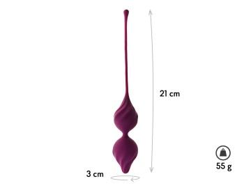 Фиолетовые вагинальные шарики Alcor