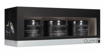 Набор из 3 массажных свечей Massage Candle Set