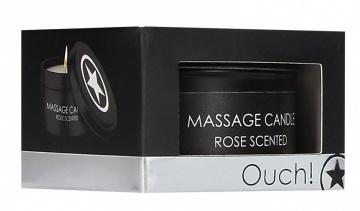 Массажная свеча с ароматом розы Massage Candle