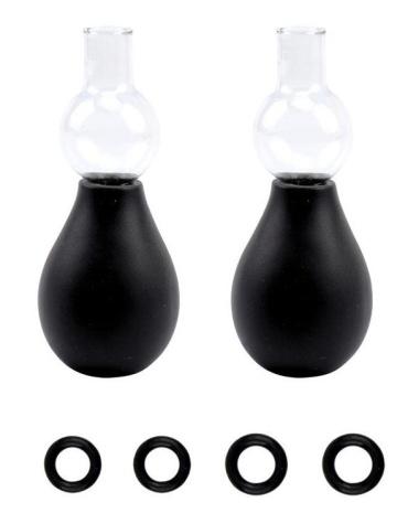 Вакуумные помпы на соски для мужчин NIPPLE SUCKER SET