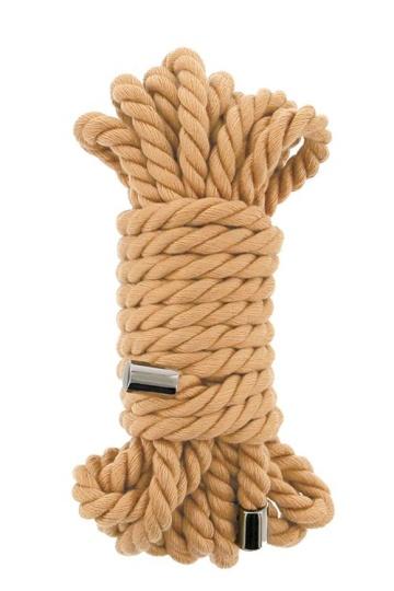Хлопковая веревка PREMIUM BONDAGE ROPE COTTON - 5 м.