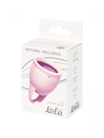 Сиреневая менструальная чаша Orchid - 15 мл.
