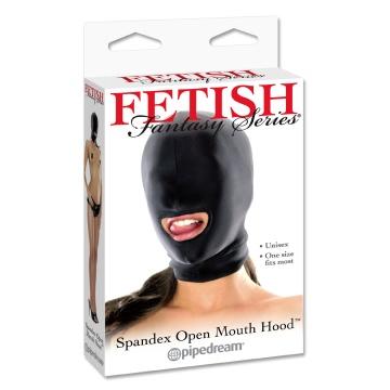Маска на лицо с прорезью для рта