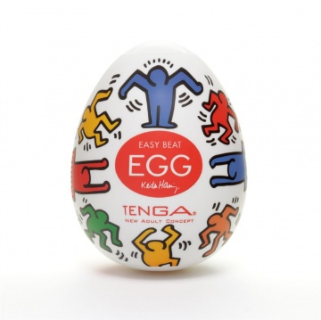 Мастурбатор-яйцо Keith Haring EGG DANCE