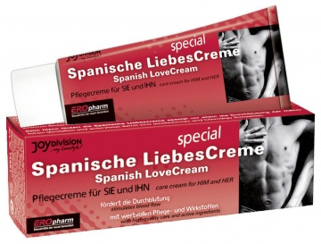 Возбуждающий крем для двоих SPANISCHE LIEBESCREME SPEZIAL - 40 мл.