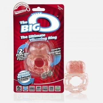 Эрекционное кольцо с вибрацией THE BIG O