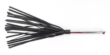 Плетка с металлической ручкой - 50 см.