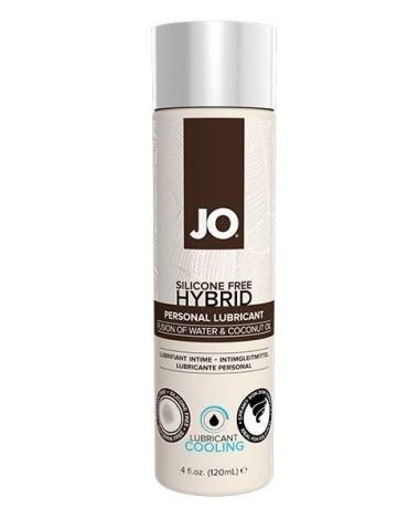 Водно-масляный лубрикант с охлаждающим эффектом JO Silicon free Hybrid Lubricant COOLING - 120 мл.