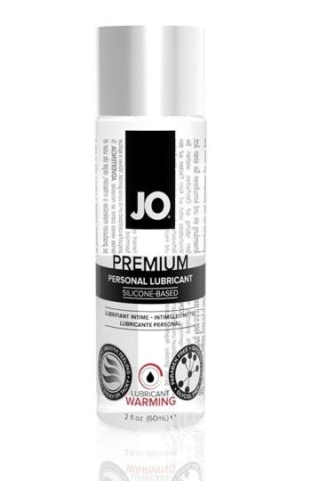 Возбуждающий лубрикант на силиконовой основе JO Personal Premium Lubricant  Warming - 60 мл.