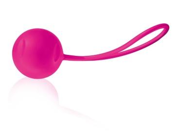 Ярко-розовый вагинальный шарик Joyballs Trend Single