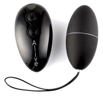 Чёрное виброяйцо Magic Egg 2.0 с пультом ДУ
