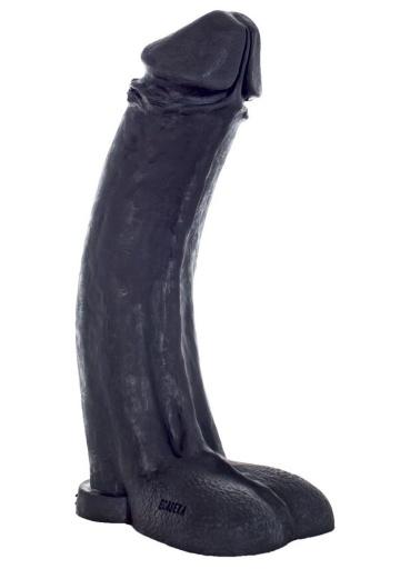 """Черный фаллоимитатор-гигант """"Мистер Большой"""" - 45 см."""