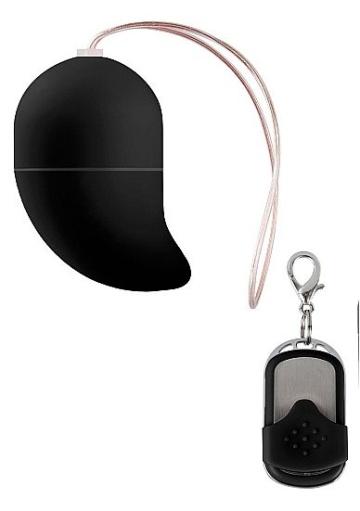 Чёрное виброяйцо G-spot Egg Small