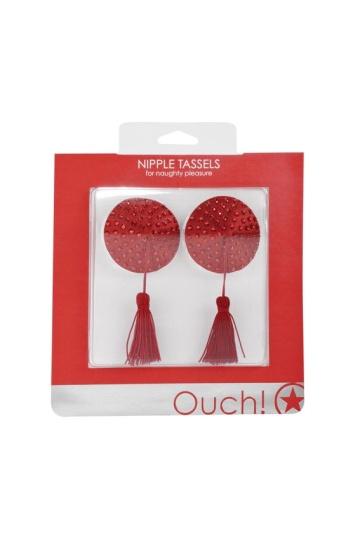 Красные круглые пестисы Nipple Tassels Round