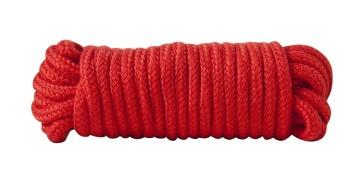 Красная хлопковая верёвка Bondage Rope 16 Feet - 5 м.