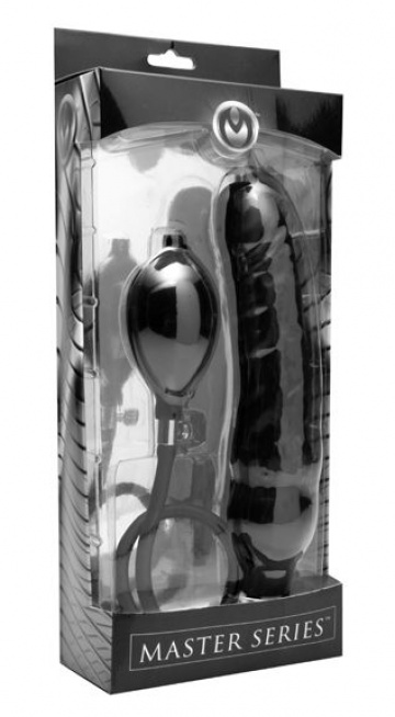 Фаллоимитатор с функцией расширения Primal Inflatable Dildo - 21,6 см.