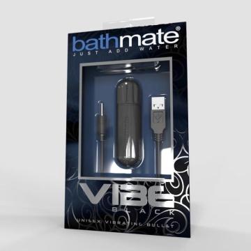 Чёрная перезаряжаемая вибропуля Bathmate Vibrating Bullet Vibe Black