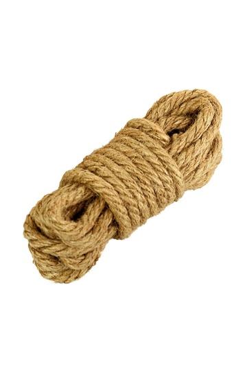 Джутовая веревка для бондажа - 5 м.