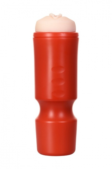 Мастурбатор-вагина A-Toys в красной колбе